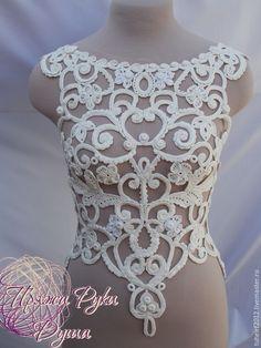 """Купить Кружево """"Кружевная сказка"""". Авторская работа - свадьба, свадебное платье, ручное кружево"""