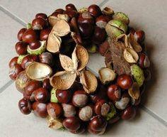 Kastanienkranz - creadoo.com buckeye wreath