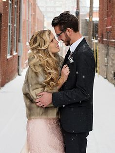 The warmth of newlywed love can be felt with romantic photography couple poses even against the winter wedding weather. Wedding Couple Pictures, Engagement Pictures, Wedding Couples, Wedding Photos, Romantic Photography, Couple Photography Poses, Wedding Photography, Photography Ideas, Romantic Couple Poses
