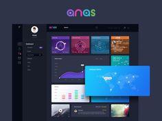 Anas Dashboard UI: Free PSD
