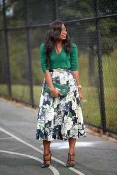 ecstasymodels:  Floral Green  Jadore-Fashion