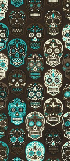 Sugar skull Skull Wallpaper Iphone, Sugar Skull Wallpaper, Sugar Skull Artwork, Cellphone Wallpaper