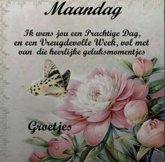 Profiel - elles123 - playtopia.nl Friday Saturday Sunday, Monday Tuesday Wednesday, Happy Monday, Good Morning Snoopy, Monday Blessings, Weekday Quotes, Afrikaanse Quotes, Goeie More, Dutch Quotes