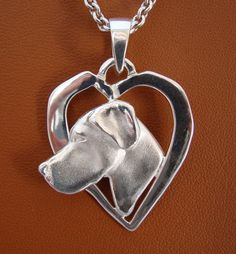 Large Sterling Silver Great Dane Head Study On A by BestK9buds, $110.00 ***I want this for Christmas so bad!!***