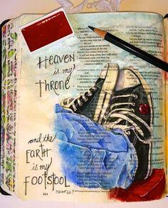What You Make It: Illuminated Journaling: Toe Tapping Praise