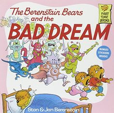 The Berenstain Bears and the Bad Dream by Stan Berenstain http://www.amazon.com/dp/0394873416/ref=cm_sw_r_pi_dp_TyfUub07K3V1C
