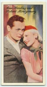 Ann Harding and Robert Montgomery.