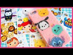 DIY Sparkle Tsum Tsum Phone Case Tutorial