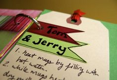 Tom and Jerry Christmas Drink Recipe : Journaling