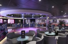 #MSCSinfonia Sinfonia Lounge & Library Kabine, Travelling Tips, Cruise, Lounge, Cow, Airport Lounge, Drawing Rooms, Cruises, Lounges