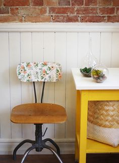 A Vintage Chair gets a Facelift