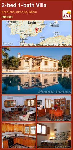 2-bed 1-bath Villa in Arboleas, Almeria, Spain ►€99,000 #PropertyForSaleInSpain