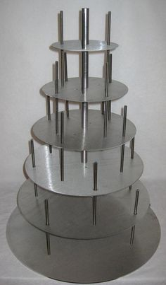 Awesome cake stacker to keep your cakes nice and sturdy!! Check them out.