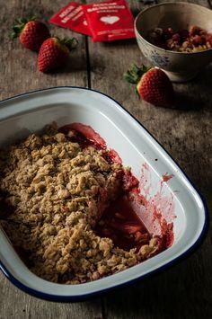 Strawberries Crumble <3