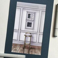 В продолжении поисков образов #скетч #скетчинг #маркеры #интерьер #интерьерныйскетч #furniture #decor #design #drawing #interior #interiordesign #interiorsketch #interiordrawing #sketch #sketching #markersketch #marker