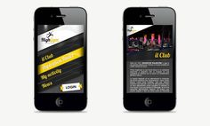 High Gym is a concept of fitness center app for more info http://complic.eu     #Fitness #Mobile #App #Complic