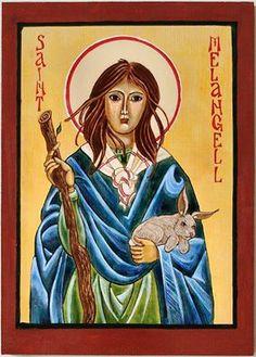 St. Melangell of the Hares