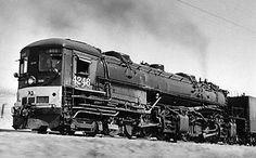 Vintage Photos / Cab-forward / Nevada. Southern Pacific cab-forward 4-8-8-2: