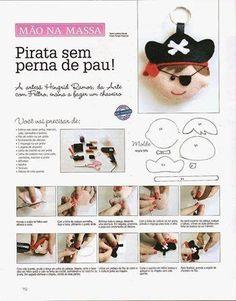 molde cabeza pirata