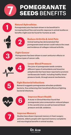 Pomegranates are beautiful and perfect for the holiday season!  Here are 7 Incredible Pomegranate Seeds Benefits - Dr. Axe