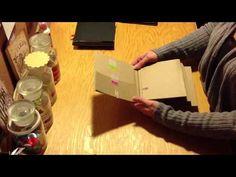 Mini book tutorial.  Brilliant