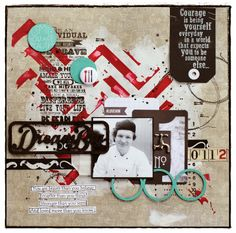 Under Surveillance - Case File No. Scrapbook Pages, Scrapbooking, Stronger Than You, Live Your Life, Someone Elses, Love Him, Brave, Thinking Of You, Stencils