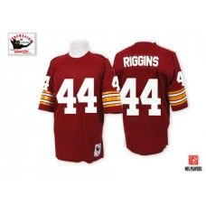 Mitchell and Ness Washington Redskins #44 John Riggins Red Throwback NFL Jersey $109.99
