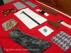 Sensory Blanket | Fig Jam and Lime Cordial