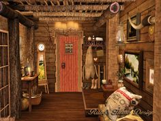 Ruby's Home Design 璐比的房屋: Sims3 Lakeside Cabin 湖邊小木屋