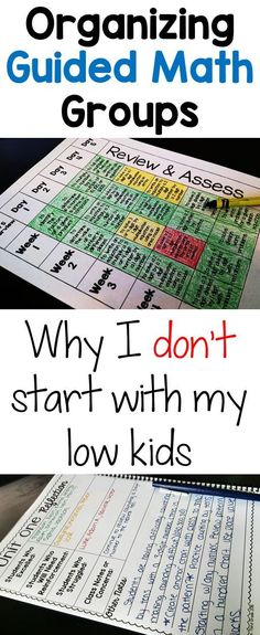 Math Set Up Guided Math Group Organization. Why I don't pull my low kids first! Why I don't pull my low kids first! Math Strategies, Math Resources, Math Activities, Multiplication Strategies, Math Rotations, Math Centers, Numeracy, 4th Grade Centers, Guided Math Groups