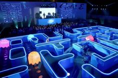 A little while back, we spied some images of a life-size Pac-Man game set up for a Bud Light Super Bowl commercial. Now the full commercial has turned up