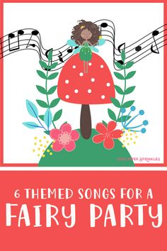 6 fairy themed kid songs for a fairy birthday party or kids who are fairy lovers. Download from your provider of choice. #kidsongs #kidsongspreschool #songsaboutfairies #RockPaperSprinkles #birthdaypartyideas #fairybirthdayparty #birthdaypartyideas #birthdaypartydiy Fairy Party Games, Fairy Party Favors, Fairy Birthday Party, Music Party, Kids Party Games, Birthday Party Games, Songs For Toddlers, Kids Songs, Fairy Music