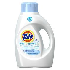 Tide Free and Gentle High Efficiency liquid laundry Detergent,50 Ounce (Pack of 2) >>> To view further, visit now : Best Skin Care Lines