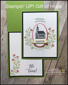 Stampin' UP! Gift of Hope | Cindy Lee Bee Designs Making Greeting Cards, Xmas Cards, Easter 2021, Fun Fold Cards, Stamping Up Cards, Making Ideas, Cardmaking, Gift Of Hope, Card Ideas