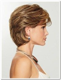 Gratitude by Eva Gabor Wigs - Heat Friendly Synthetic Wig - August 24 2019 at Short Bob Hairstyles, Easy Hairstyles, Prom Hairstyles, Sassy Haircuts, Old Lady Haircuts, Pretty Hairstyles, Hairstyles For Women, Short Grey Haircuts, Layered Haircuts For Women