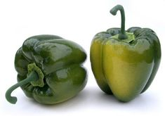 Artificial Green Bell Pepper, Box of 6 *** Want to know more, click on the image.