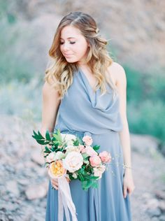 Photography : Melissa Jill Photography Read More on SMP: http://www.stylemepretty.com/2016/05/23/mix-match-style-inspiration-for-bridesmaids/