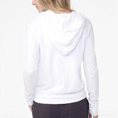 James Perse Vintage Fleece Long Sleeve Hoodie - French Navy Pigment 1
