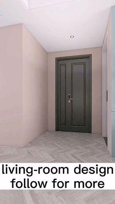 Drawing Room Interior Design, Small Room Design Bedroom, Living Room Partition Design, Room Partition Designs, Home Room Design, Home Interior Design, House Design, Interior Modern, Decor Home Living Room