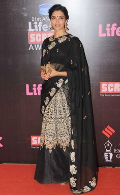 Deepika Padukone at 21st Life OK Screen Awards
