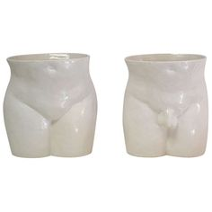 Pair of Blanc de Chine Vases | From a unique collection of antique and modern vases at http://www.1stdibs.com/furniture/more-furniture-collectibles/vases/