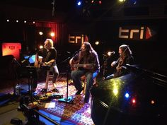 7-1-2014 TRI Studios: Bob Weir, Dave Schools, and Jason Crosby.