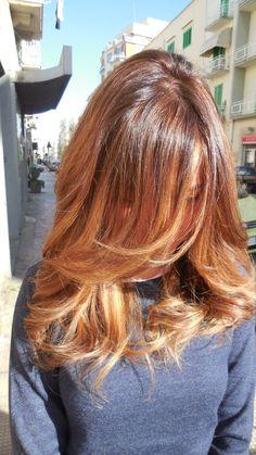 Degrade biondo caldo   Degrade'   Pinterest   Hair style