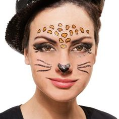 "Face Art Tattoo ""Leopard"" € 3,95"