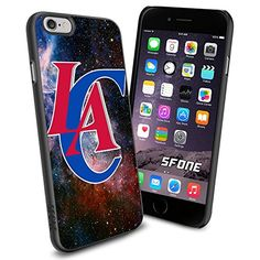 """Los Angeles Clippers Logo Galaxy iPhone 6 4.7"""" Case Cover Protector for iPhone 6 TPU Rubber Case SHUMMA http://www.amazon.com/dp/B00VQIF14K/ref=cm_sw_r_pi_dp_oUYovb0PTGJCR"""