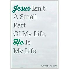 The best part of anything about me is Jesus. Christian Spiritual Quotes, Christian Quotes, Bible Quotes, Qoutes, Me Quotes, Love The Lord, Gods Love, Cool Words, Wise Words