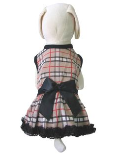 UP Collection The Tartan Printed Dress for Dogs, XX-Small >>> Quickly view this special  product, click the image (This is an amazon affiliate link. I may earn commission from it)