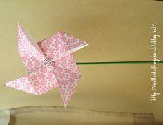 Origami Moulin à vent