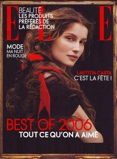 Laetitia Casta Fashion Magazine Cover, Fashion Cover, Magazine Covers, Laetitia Casta, Faye Dunaway, Beauty Around The World, Elle Magazine, Seventeen Magazine, French Actress