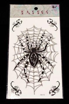 Siirtotatuointi -Hämähäkki | Cybershop
